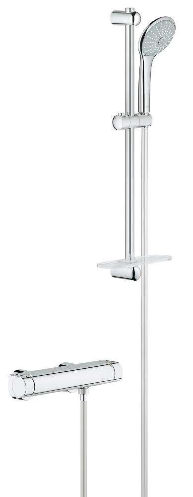 Grohe Grohtherm-2000 new 15 cm met Euphoria 110 3 standen 60 cm 34195001
