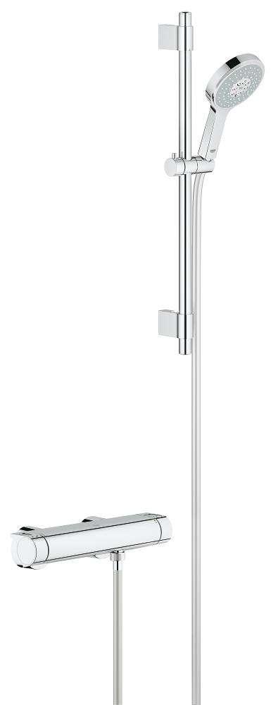 Grohe Grohtherm-2000 new 15 cm met Power&Soul Cosmopolitan 130 (27663000) 60 cm 34281001