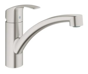 Grohe Eurosmart New keukenkraan laag model supersteel 33281DC2